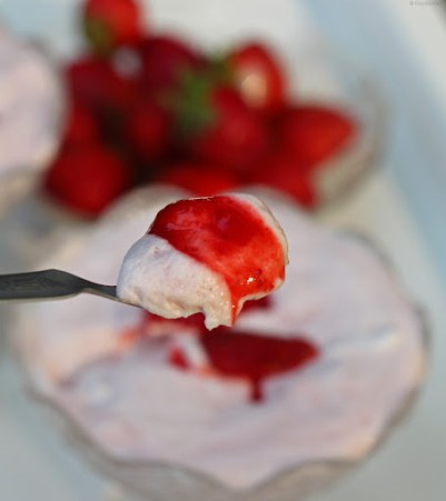 instant strawberry mousse