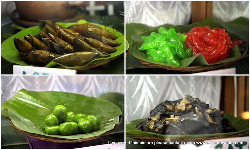 foto Berbagai makanan tradisional