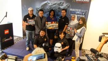 sidang media LEGO Star Wars Days