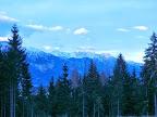 Blick auf die Nordkette von Innsbruck