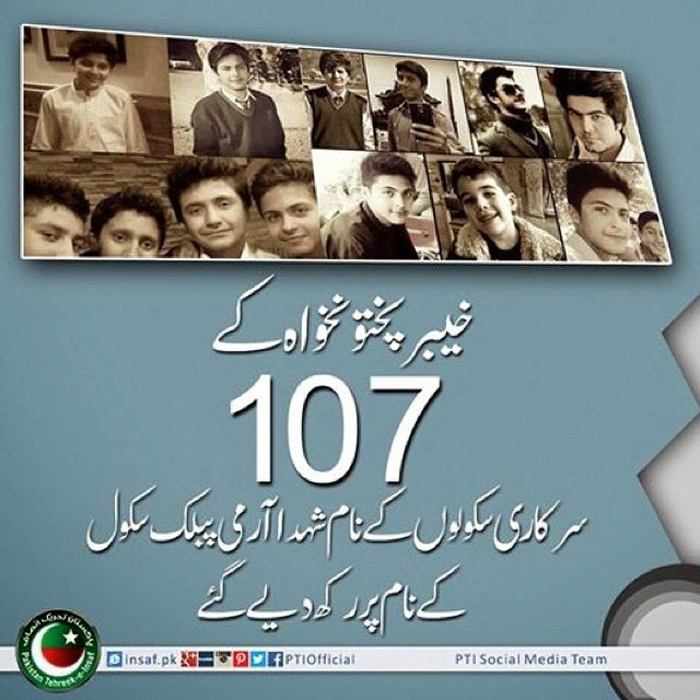 KPK upgrades 107 schools