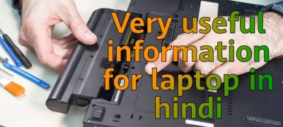 Very useful information for laptop in hindi