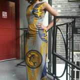 Fabulous maxi kitenge dress Summer  2016