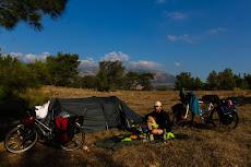 Camping close to Kas