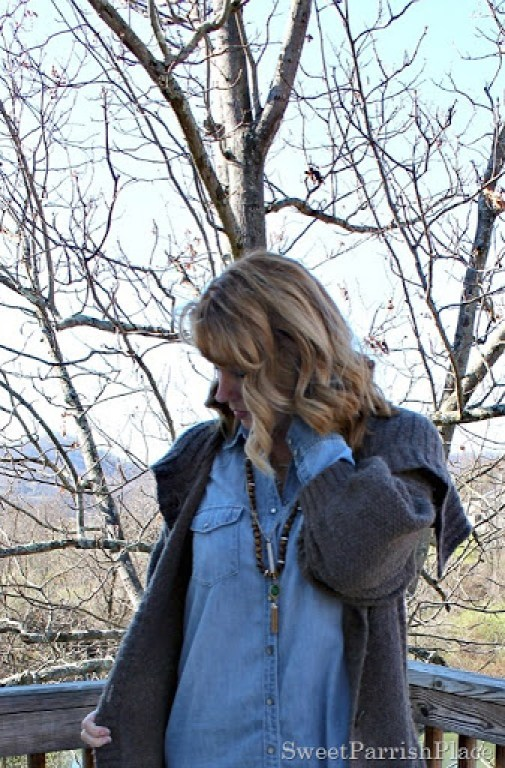 denim-shirtdress-chunky-long-cardigan-riding-boots-5
