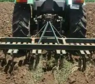 a tractor ploughing