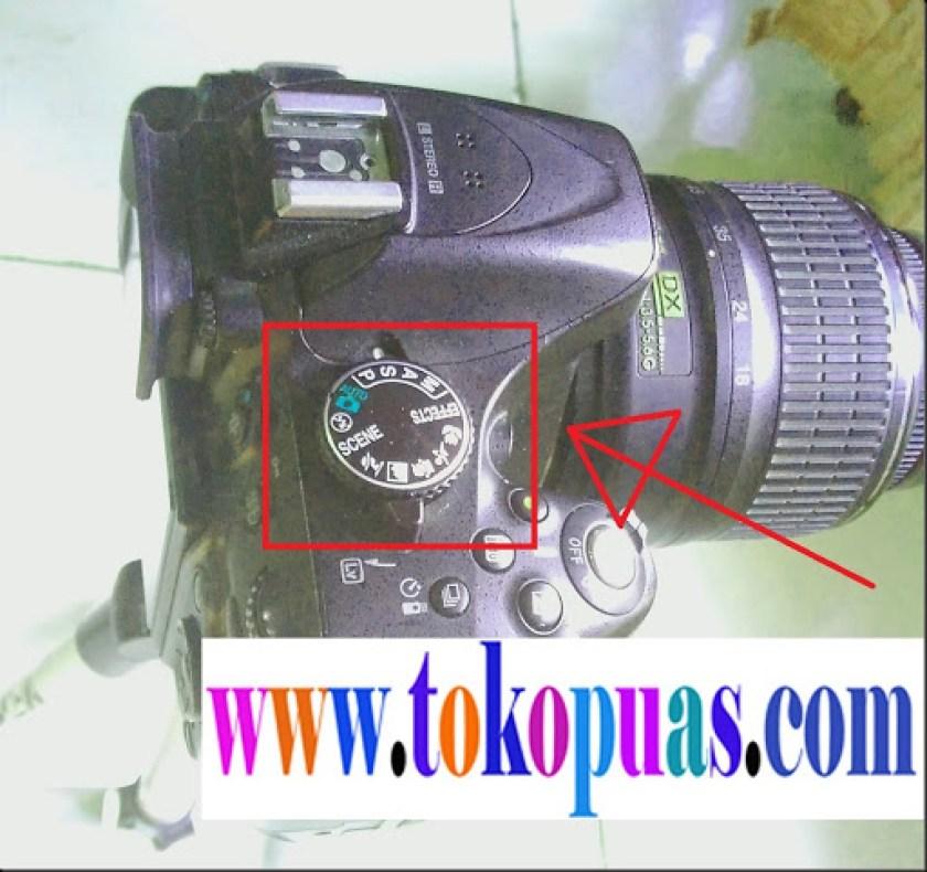 cara setting shutter speed kamera dslr