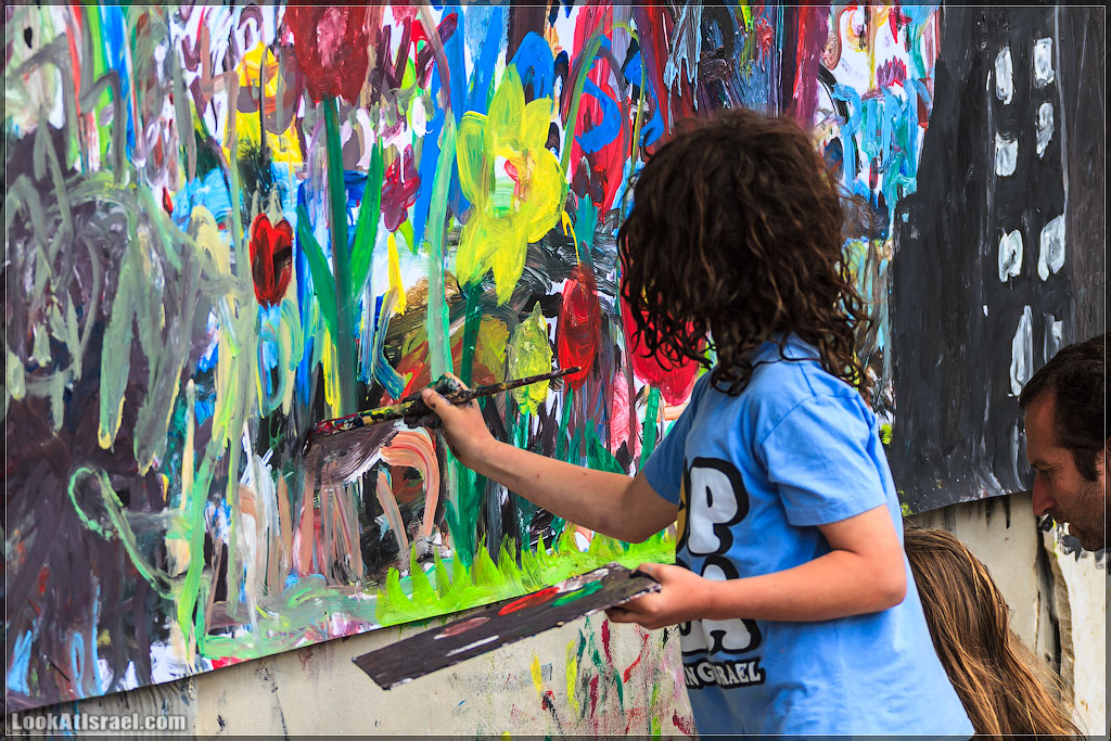 Фестиваль bodyart в Тель Авиве. Часть I – Все в работе | LookAtIsrael.com - Фотографии Израиля и не только...