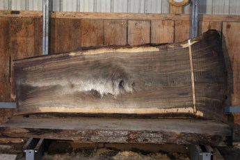 "549  Walnut -8 10/4 x  43"" x  26"" Wide x 8'  Long"