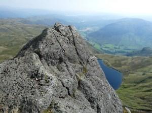 Pinnicle at top of Jacks Rake