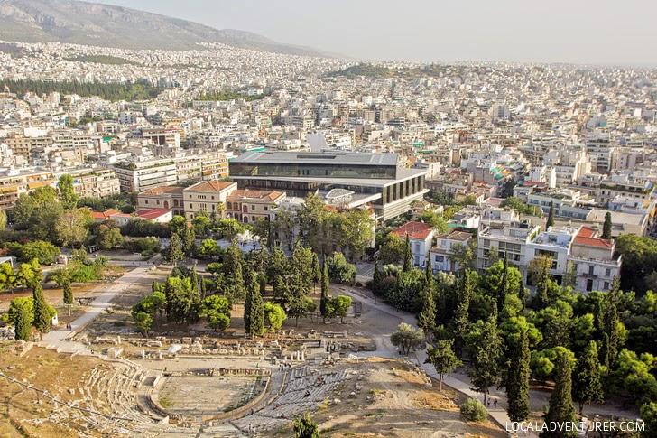 Dionysus Theatre Greece Acropolis.