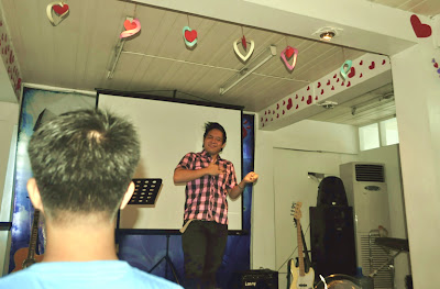 Nathan gives his personal testimony at Bread from Heaven Community Church (Quezon City) - February 27