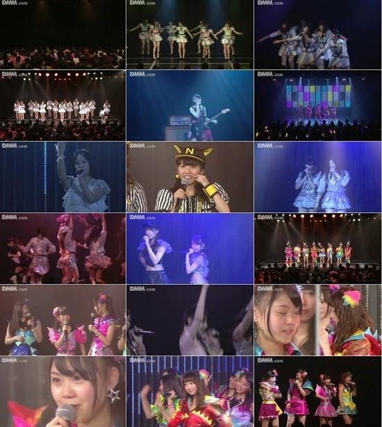 """(LIVE)(公演) NMB48 チームN """"ここにだって天使はいる"""" 西村愛華の生誕祭 150114"""
