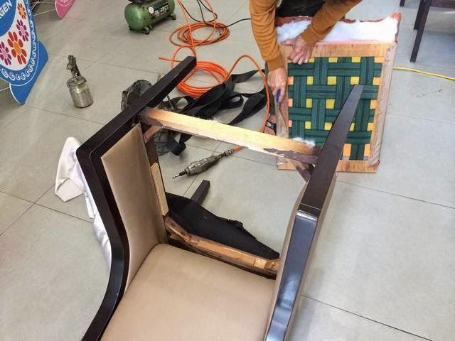 洽談椅子維修