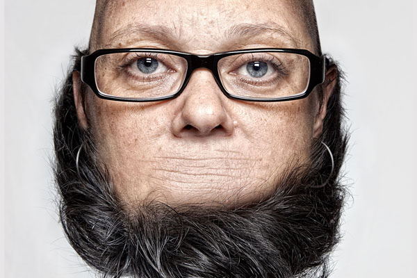 *THORSTEN SCHMIDTKORD有趣攝影系列 Head on Top :「親愛的 我的頭!?」 1