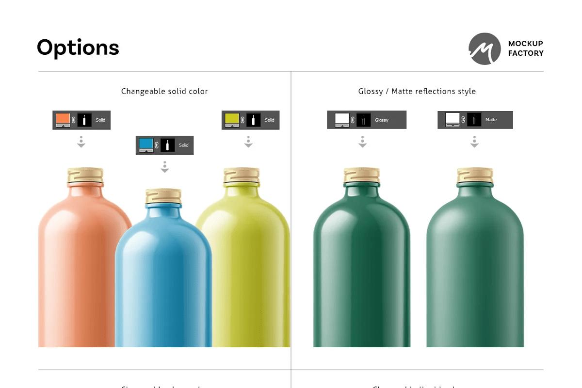 Enjoy the thrilling design of the new kombucha bottle mockup,. Free Creativemarket Kombucha Bottle Mockup 5193947 ʖ