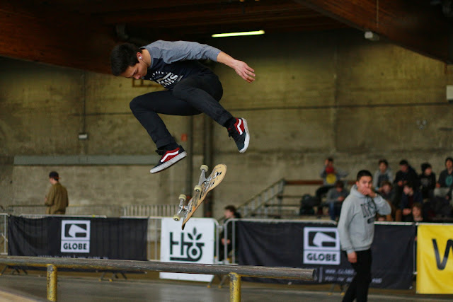 The Best of the West skatebaorden in Trax Roeselare