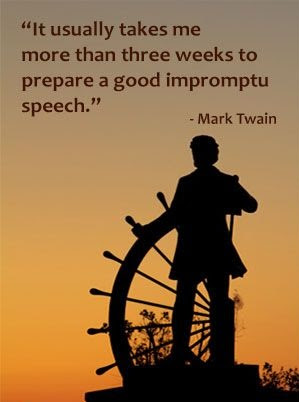 Inspirational quotes from Mark Twain books