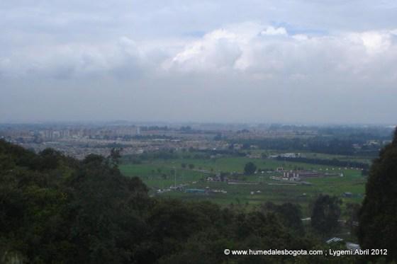 Vista Nor-Oriental desde el Cerro La Conejera