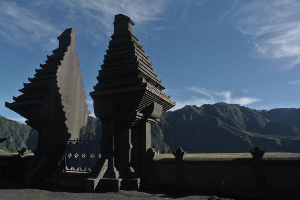 Y como no, un templo