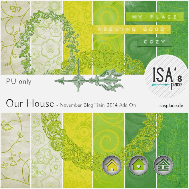 Scrapbooking Kit Our House Add On