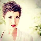 cute short messy pixie haircut 2015 2016