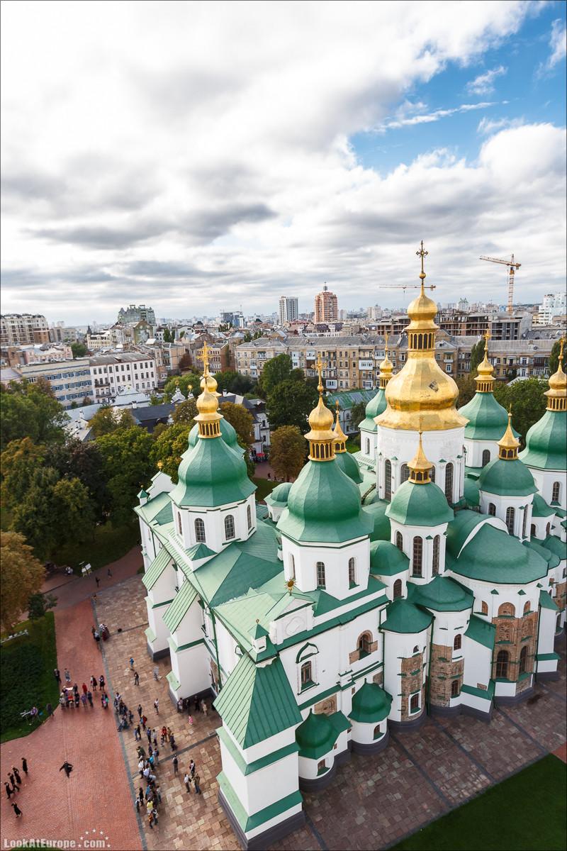 Софийский собор в Киеве | Блог LookAtIsrael.com путешествуют по Украине