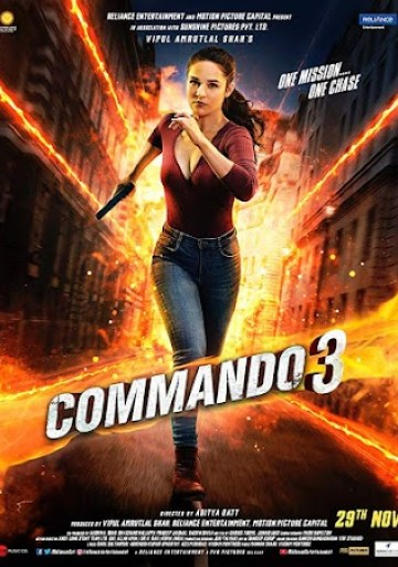 Commando%2B3%2Bposter Watch Online Commando 3 2019 Full Movie Download HD Pdvd Hindi