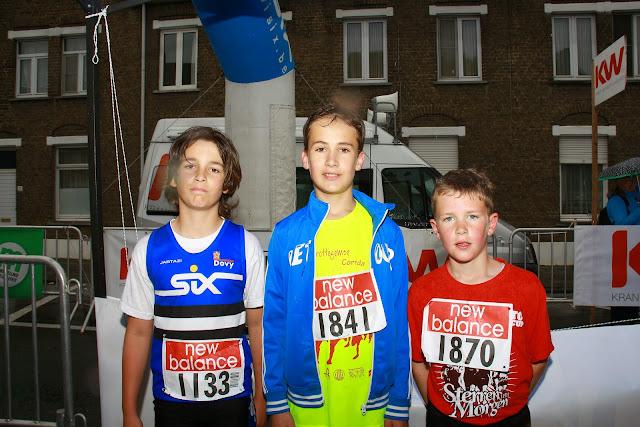 top 3 van de 1000 meter kidsrun
