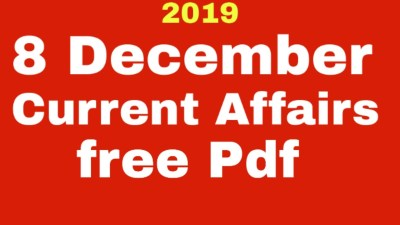 Today Gk & Current affairs 7 December