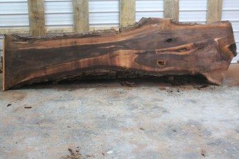 Walnut 216-2  Length 12' Max Width (inches) 38 Min Width (inches) 18 Notes 10/4 Kiln Dried