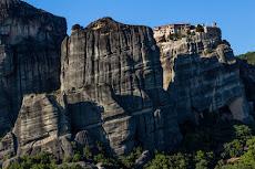 Incredible walls of Meteora