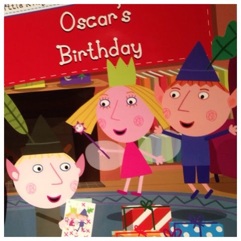 review oscar s personalised birthday book from penwizard co uk