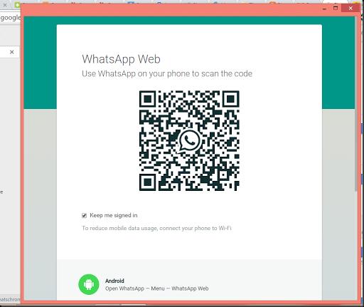 tutorial whatsapp di google chrome