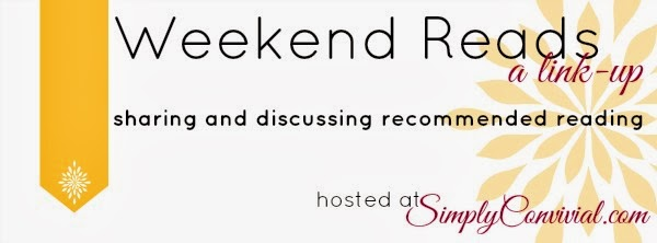 weekend reads link up