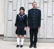 広島新庄高等学校の女子の制服2