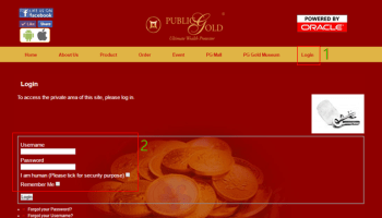login website Public Gold