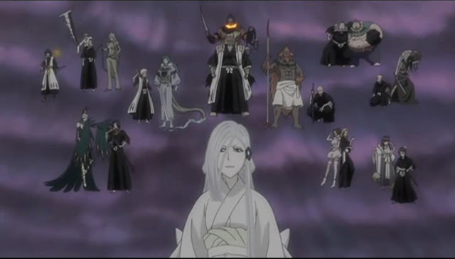 GIANT ROSTER OF CHARACTERS IN BLEACH ANIME SERIES, A SHOT BY WRITING TO LIVE BLOG