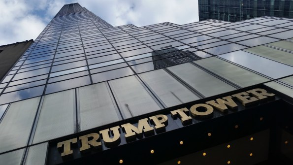 Zwaar bewaakte Trump Tower