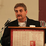 Presenter Dan Becker (for inductee Luke Becker).