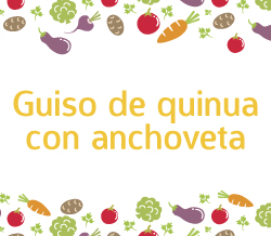 guiso de quinua con anchoveta niños recetas