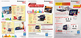 Lenovo COMEX 2014 Flyer - Consumer Page 1