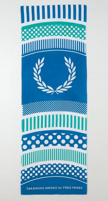 #藝術家高橋理子嶄新水玉線條呈現:FRED PERRY日本傳統手工拭巾 10