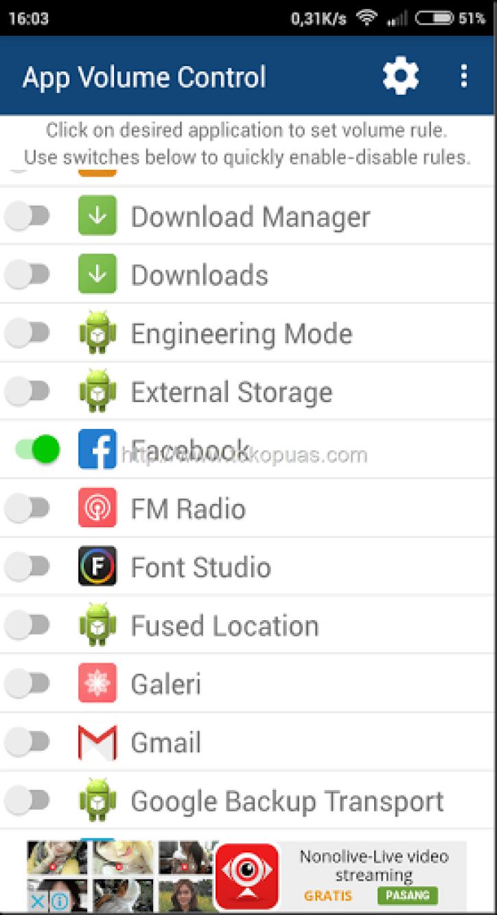 tutorial pengaturan volume smartphone android dengan mudah