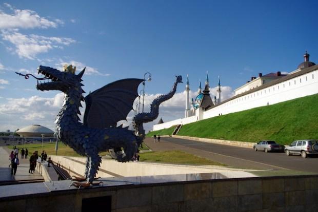 Kremlin de Kazán. Zilant