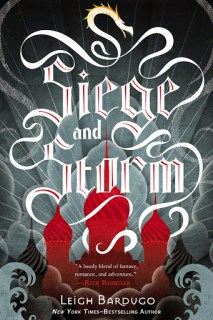 Siege and Storm by Leigh Bardugo book cover