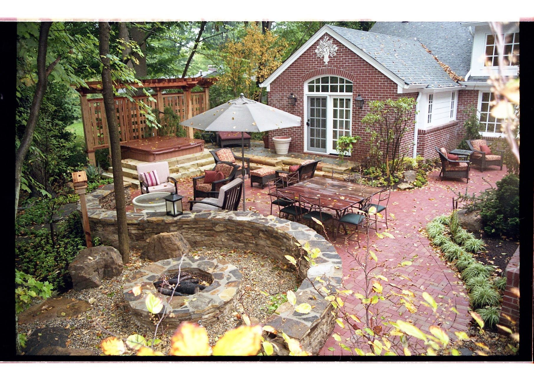 Fire Pits Fireplaces Amp Fire Features Pro Care Landscapers