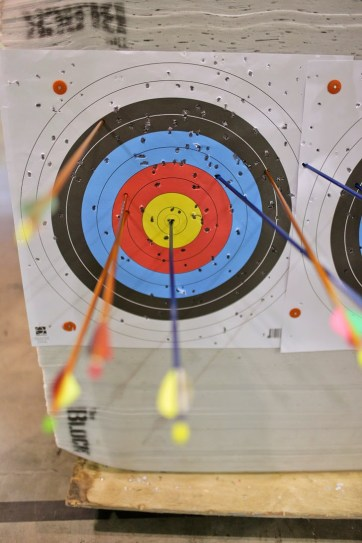 Archery Classes at Impact Archery (Fun things to do in Las Vegas).
