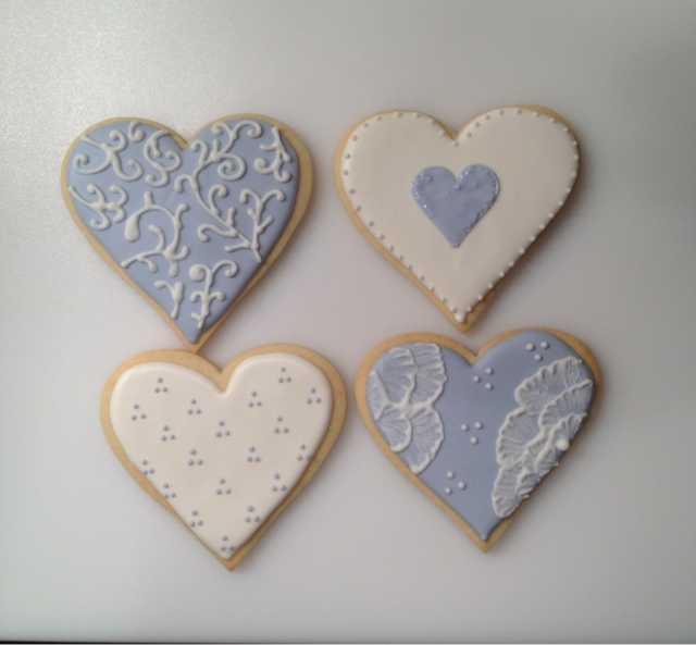 Heart Sugar Cookies for a Wedding | Baking with Best