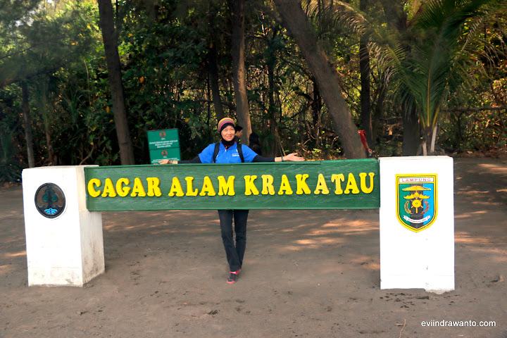 Selamat datang di Cagar Alam Krakatau